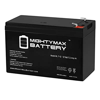 Mighty Max Battery Battery Razor Mini Chopper C300 12V 7AH Brand Product: Home Audio & Theater