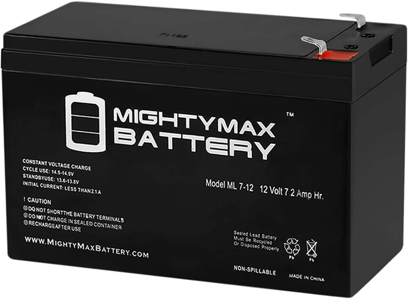 Mighty Max Battery 12V 7.2AH SLA Battery for Verizon FiOS PX12072-HG Brand Product