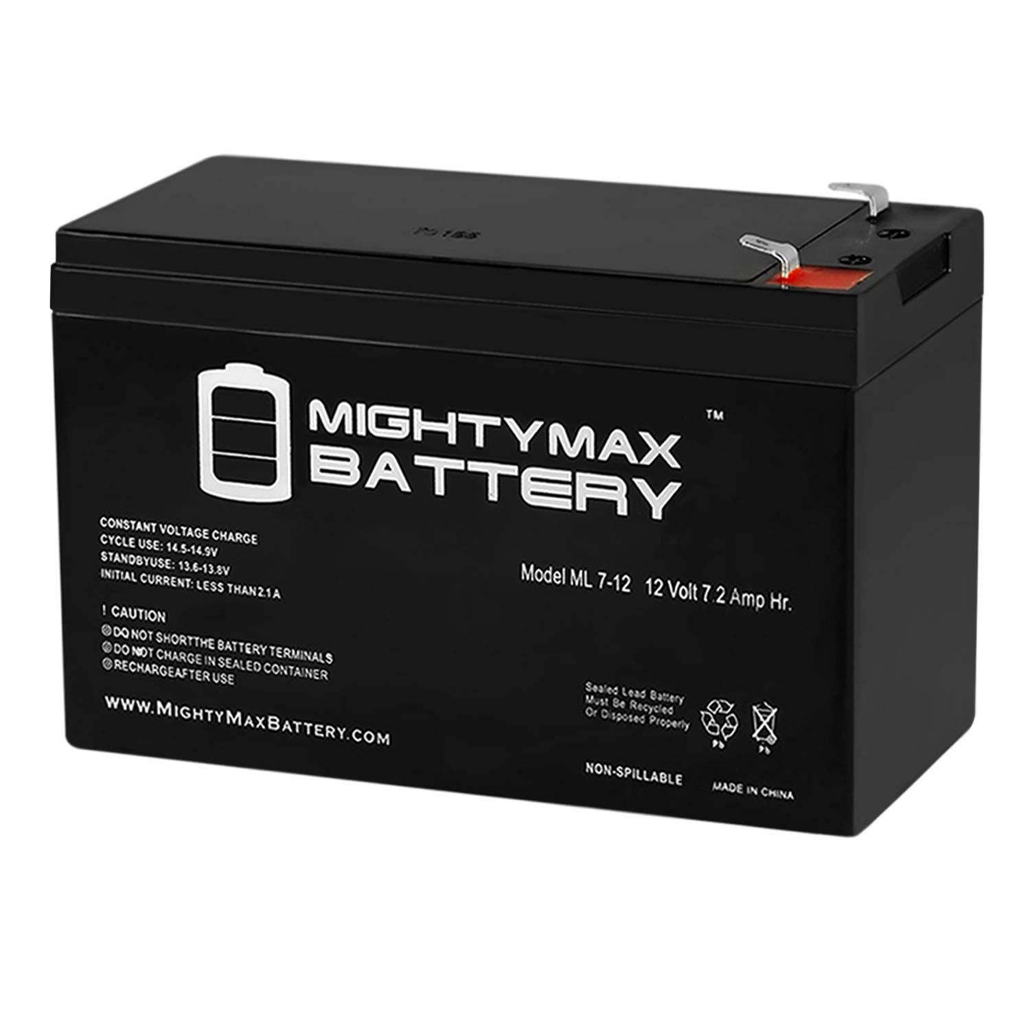Mighty Max Battery 12V 7.2AH SLA Battery for Verizon FiOS PX12072-HG Brand Product by Mighty Max Battery