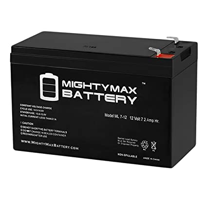 Mighty Max Battery 12V 7Ah Home Alarm System Back Up Replacement for Power Patrol Brand Product