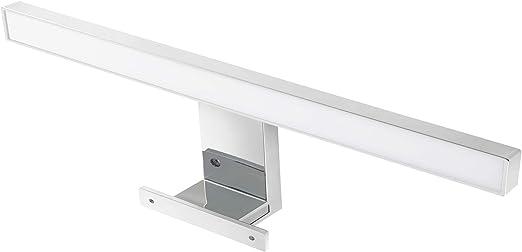 Lampe Salle De Bain Led Miroir Mur 5w Blanc Chaud 3000k Ip44