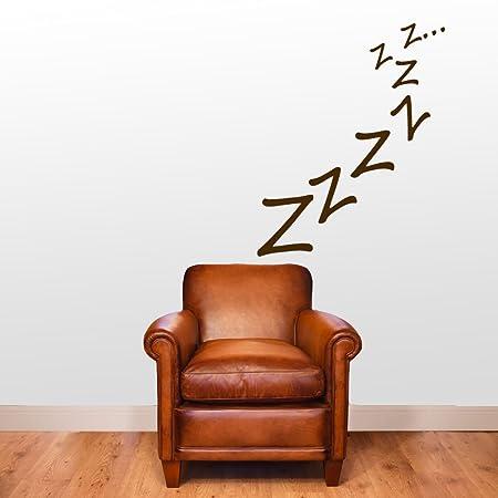 Sleepy zzzzz snooze wall decorations window stickers wall decor wall stickers wall art wall decals stickers