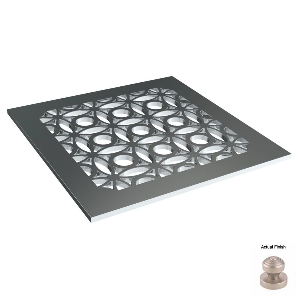 new Watermark SD3-VN Velvet Nickel Shower Drain Designer Shower