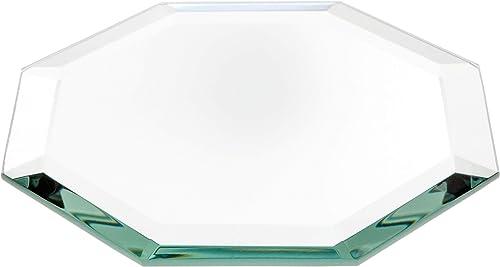 Plymor Octagon 5mm Beveled Glass Mirror