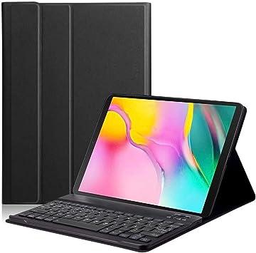 Showyun Funda Teclado Tablet para Samsung Galaxy Tab S5e 10.5 Inch SM-T720 / T725, Diseño español, Funda Teclado Bluetooth Inalámbrico Removible para ...