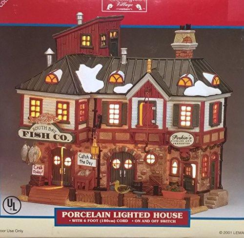 Lemax 2001 Caddington Village Collection ~ Porcelain Lighted House ~