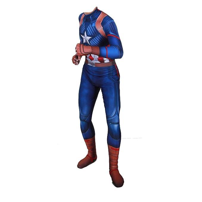 Amazon.com: Disfraz de Capitán América de guerra civil ...