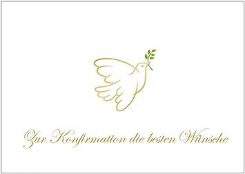 Wunsche konfirmationskarte