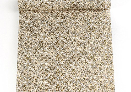Self Adhesive Decorative Contact Paper Shelf Liner for Kitchen Cabinets Drawer Dresser Shelves Wall Arts and Crafts Decor 17.7x78.7 Inches