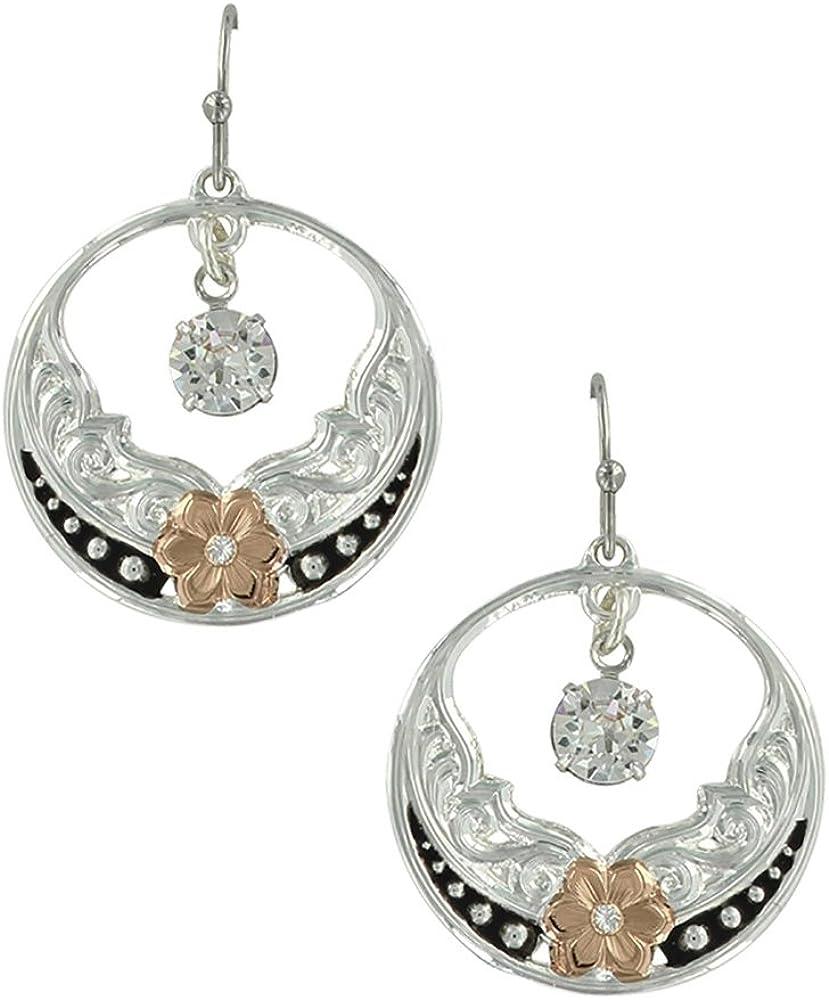 Evening Stars Wild Rose Earrings