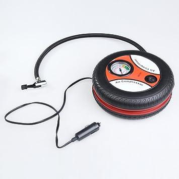 Amazon.es: Vktech® 260PSI Mini Compresor de Aire Inflador Neumaticos Portátil para Coche DC 12V