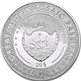 2017 Palau $20 GREAT MICROMOSAIC PASSION, BIRTH