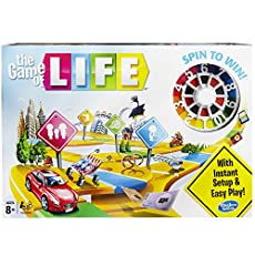 Product Description: Do you have what it takes to win The Game of Life game? You do it by choosing the life you want! Go to college, take the family path, have kids, or see what happens when unexpected twists change the game. Will you receive a fortu...
