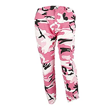 0e8f21c7a95 Orange Camouflage Pants Sweatpants Purple Pink Camo Pants Pantalon ...