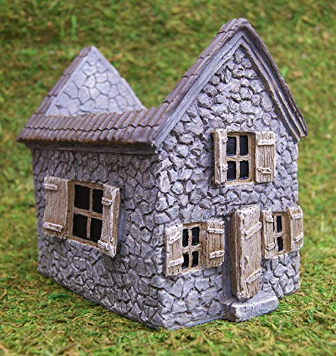 Miniature Fairy Garden Mill House Planter