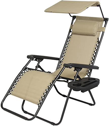 Zero Gravity Chair Lounge Patio Chairs Outdoor