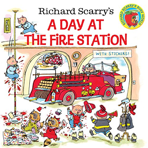 Richard Scarry's A Day at the Fire Station (Pictureback(R)) ()