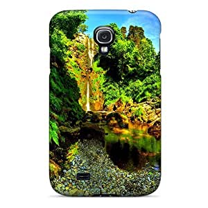 For Galaxy S4 Tpu Phone Case Cover(nature's Paradise)
