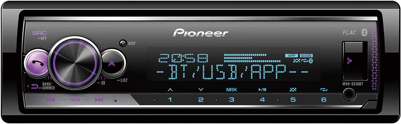 Pioneer Mvh-s210dab Autoradio Dab Tuner iPhone Android Autoradio Pas de CD