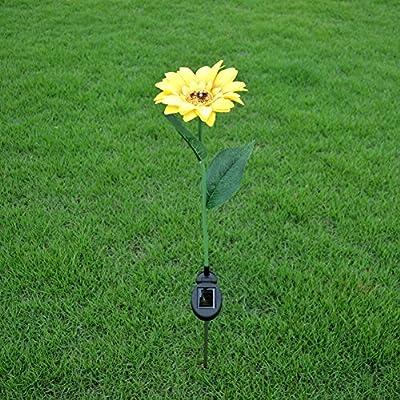 Elegante lámpara LED de simulación de Girasol para jardín, jardín, Fiesta, Festival, decoración: Amazon.es: Hogar