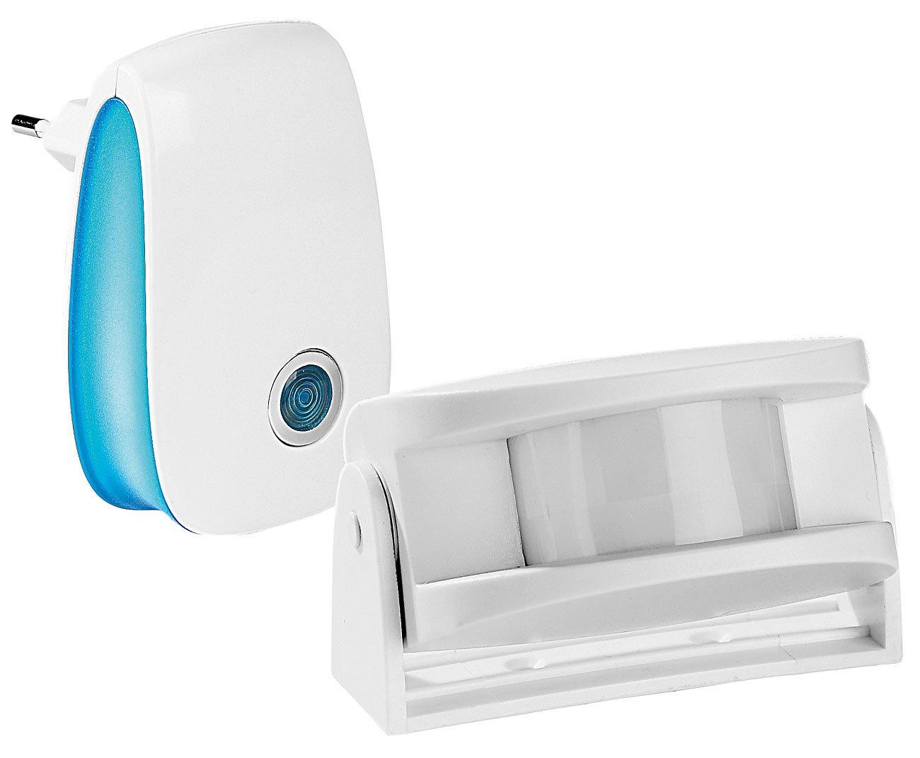 FreeTec - Timbre inalámbrico con detector de movimiento: Amazon.es: Bricolaje y herramientas