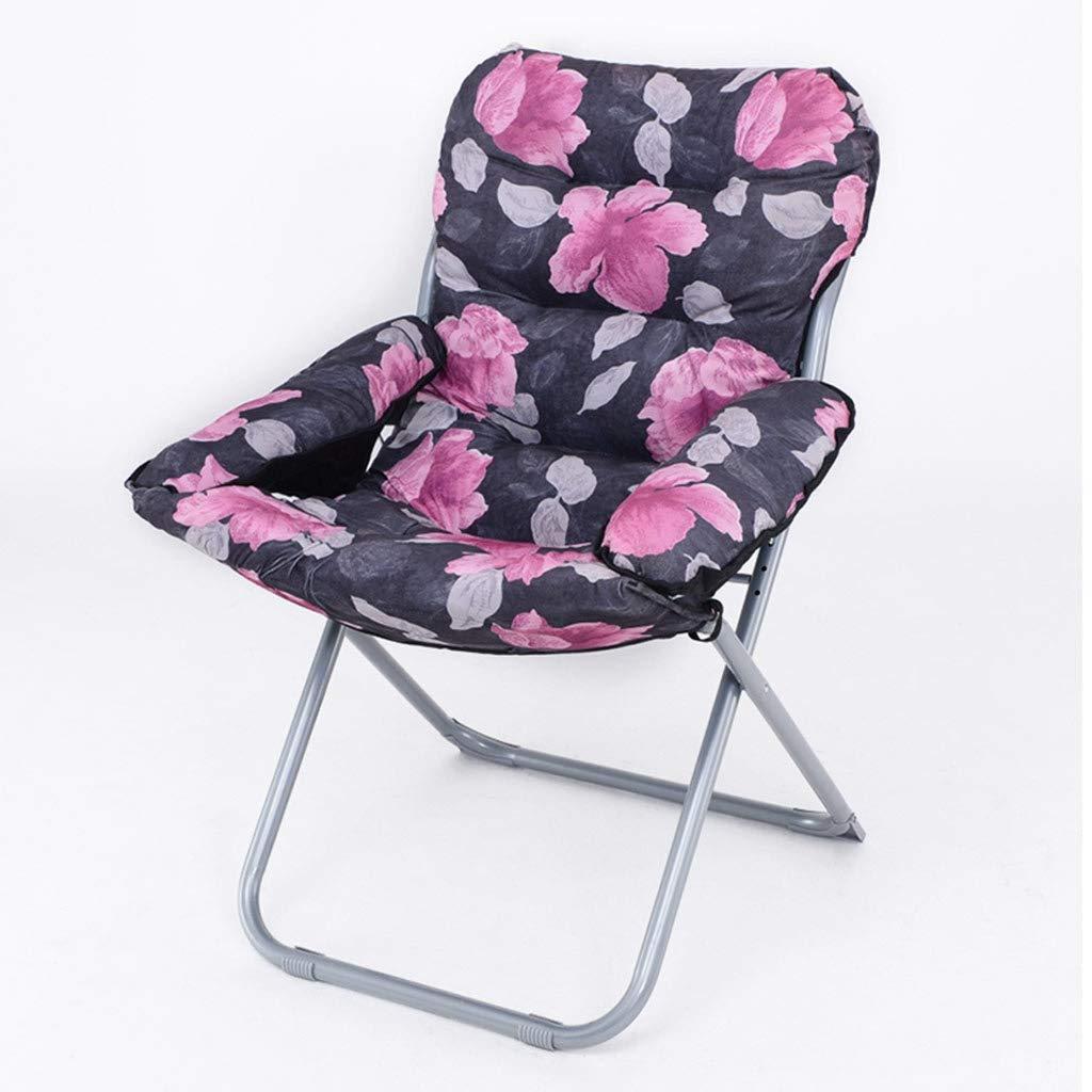 Chaise pliante occasionnelle de bureau de salon se pliant fort soutenant (Couleur : B)