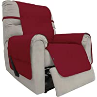 Easy-Going Sofa Slipcover Waterproof Recliner Chair Cover Non-Slip Fabric Couch Cover for Living Room Washable Furniture…