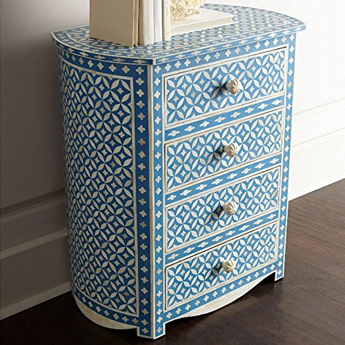Butler Bone Inlay Chest Of Drawer Made Designers Inlay ()