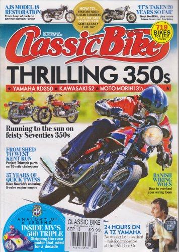 Classic Bike Magazine September 2013