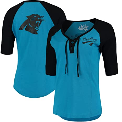 pretty nice ecb6c 9e2d2 G-III Sports Carolina Panthers Women's Perfect Game T-Shirt