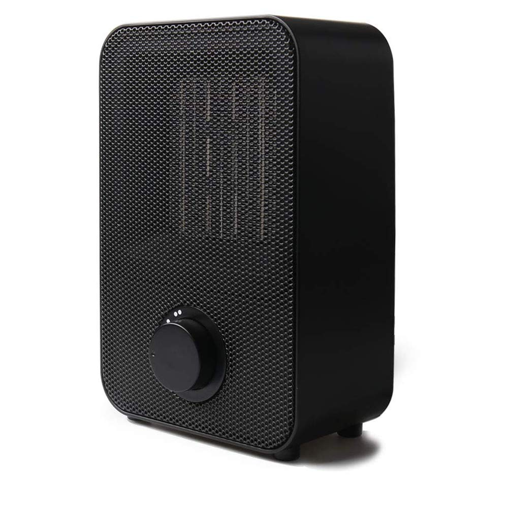 Personal Space Heater,LIECHO 1500W/750W Portable Ceramic Heater,Over-Heat Protection & Tip-Over Protection, Mini Heater Fan for Bedroom,Kitchen,Office (Black) by Liecho
