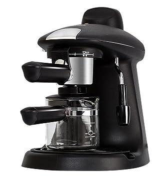 Máquina De Café Italiana Máquina De Café Semiautomática Steam Coffee Pot Máquina De Café Multifunción: Amazon.es: Hogar