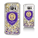 Keyscaper Orlando City Soccer Club Confetti Gold Glitter Samsung S7 Case MLS