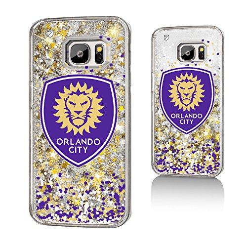 Keyscaper Orlando City Soccer Club Confetti Gold Glitter Samsung S7 Case MLS by Keyscaper
