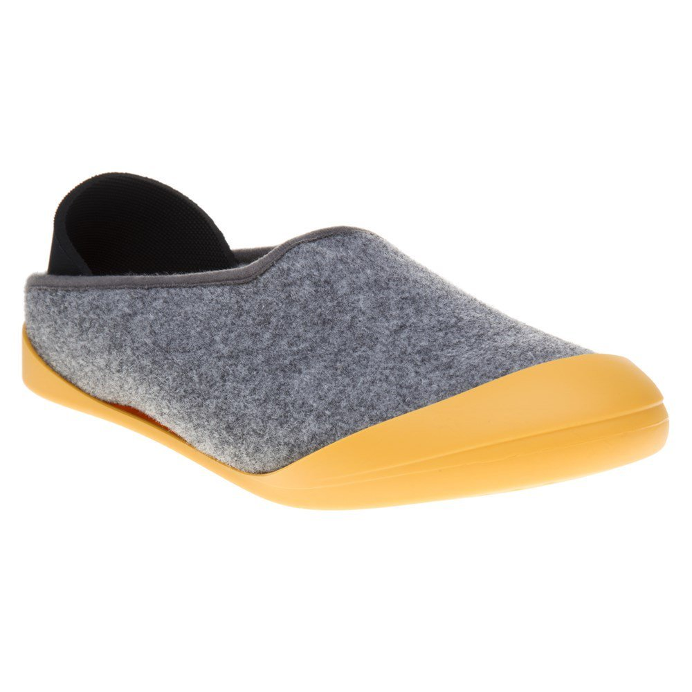 Mahabis Classic Mens Slippers Grey