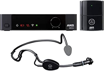 AKG C544 L Sports Fitness Headset Microphone Mic For Workout Yoga Spin Pilates