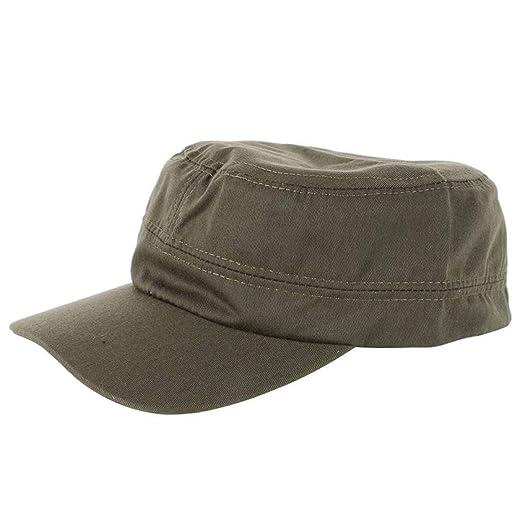22d72fb900990 M34 Adjustable Army Cadet Style Hat Cotton Cap Men Women Baseball Caps