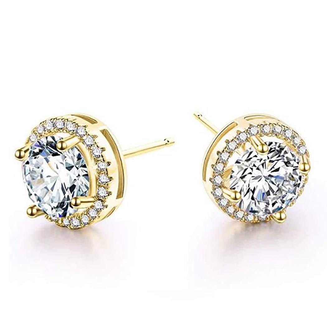 UpBeauty Women Fashion Trendy Style Rhinestone Stud Earring Jewelry Gift Stud