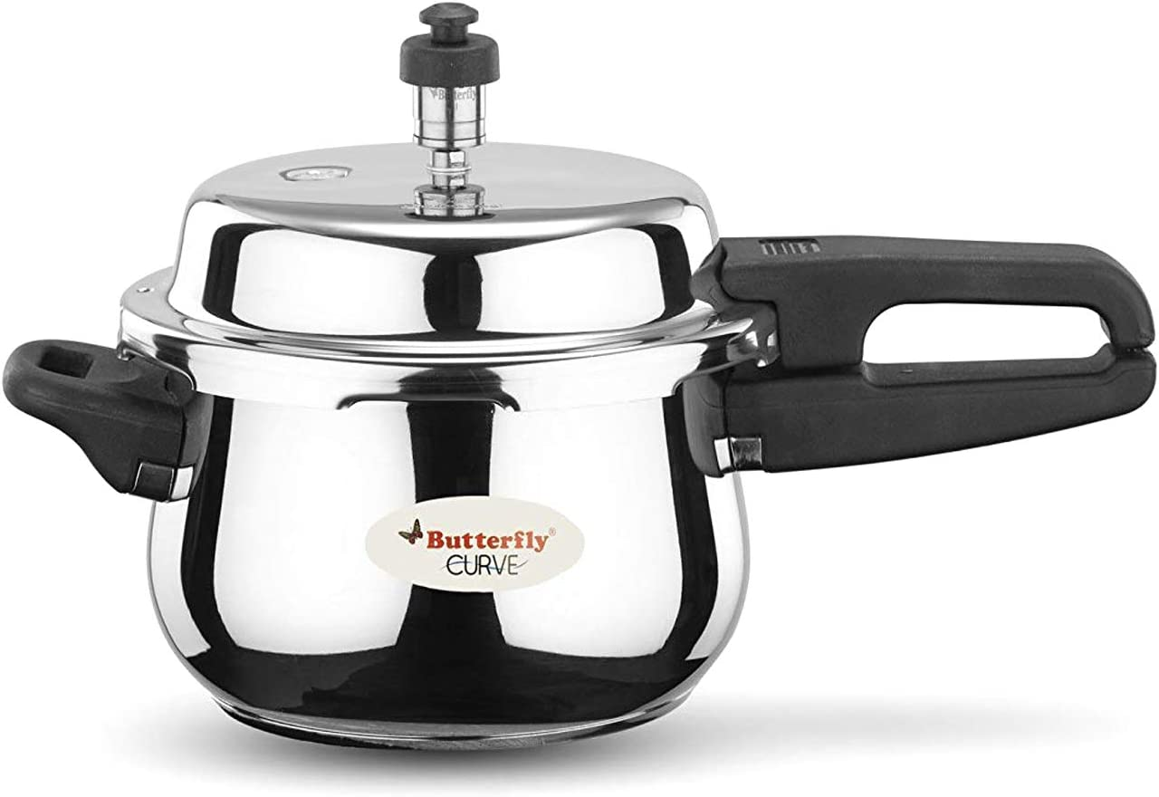 Butterfly Curve Stainless Steel Cooker (3 L)
