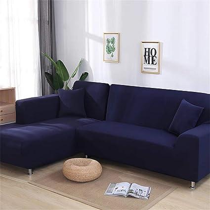 Amazon.com: 2 Pieces Covers for Corner Sofa Living Room ...