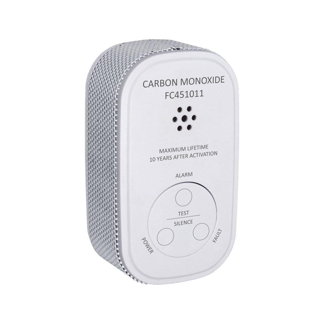 ELRO FC4510 Détecteur de CO compact design – capteur de 10 ans ELRO Europe