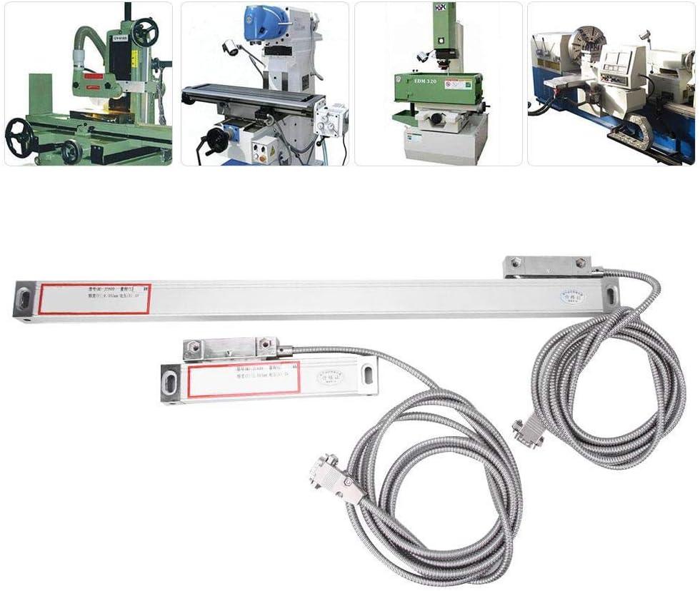 0-50 mm 0-350 mm 0-700 mm Lectura Digital Regla de Rejilla de aleaci/ón de Aluminio DRO para Pantalla Digital JCS900-2AE//JCS900-3AE Yanmis 3 Piezas de 1 Juego de Escala Lineal