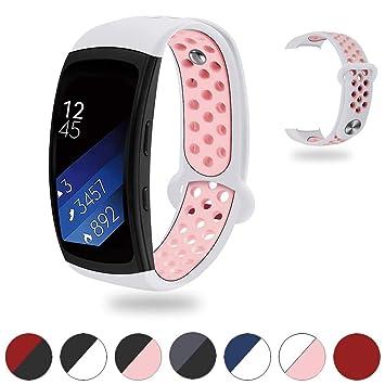 Tosenpo Correa de Repuesto para Samsung Gear Fit2/Gear Fit 2 Pro ...