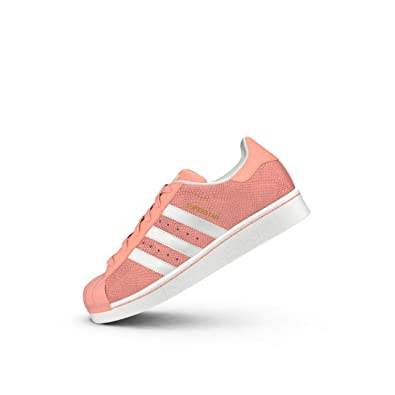 2d7d7daa5510 adidas Girls Originals Junior Girls Superstar Reptile Trainers in Pink - UK  5.5