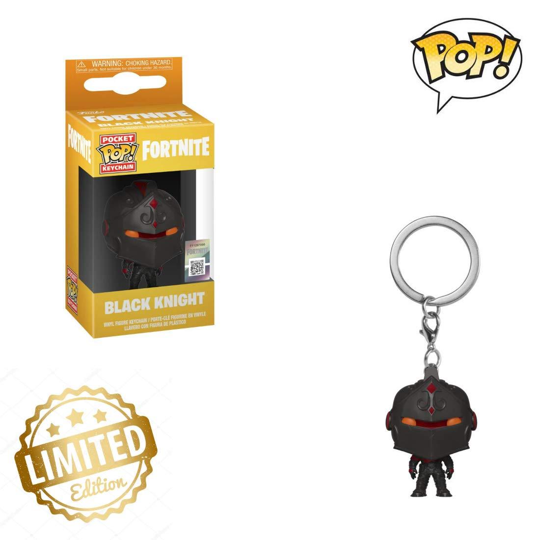 Amazon.com | 36953 Pop! Keychain: FortniteBlack Knight ...