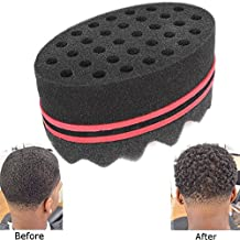 Curly Hair Styling Sponge Brush Dreads Locking Twist Afro Locs Style Barber Tool