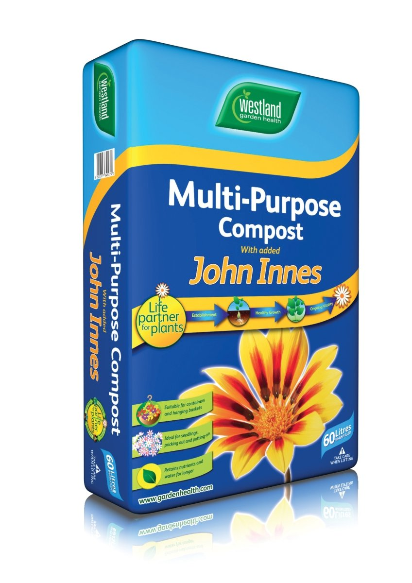 Image for westland multi purpose compost with john innes 50l from - 3 Bags Multibuy Offer Multi Purpose Compost With John Innes 50l Amazon Co Uk Garden Outdoors