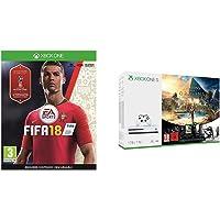 FIFA 18 - Edición estándar + Xbox One S - Consola 1 TB Assassin's Creed Origins + Tom Clancy's Rainbow Six Siege