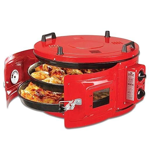 itimat Horno eléctrico Turco para Pan Redondo y Pizza y Muchos ...