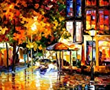 THE WINDOWS OF AMSTERDAM is an Oversized, One-of-a-Kind, ORIGINAL OIL PAINTING ON CANVAS by Leonid AFREMOV. We asked Leonid to paint some new, exciting and AFFORDABLE LARGE ORIGINALS for his collectors in the USA. Each of these AMAZING ORIGINAL Maste...